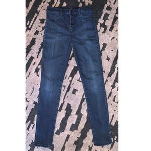 •J Brand• Maria High-Rise Super Skinny Jeans